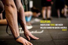 #Disciplina #Crossfit #Frases #Forcefit #Fitness #Motivacion