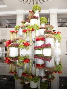 lobby flowers in Penha Longa Hotel, by Filipa Pereira