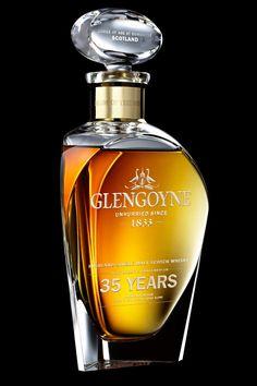 Glengoyne 35 Years Old Highland Single Malt Scotch Whisky.