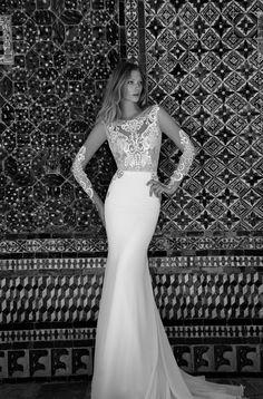 Alon Livné Wedding Dresses at Les Trois Soeurs Bridal Mod Wedding, Wedding Suits, Wedding Gowns, Wedding Reception, Wedding Cakes, Bridal Collection, Dress Collection, Illusion Wedding Gown, Bridal Elegance