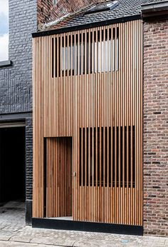 Ideas Wood Architecture Facade Timber Cladding Wooden Houses For 2019 Wooden Architecture, Facade Architecture, Residential Architecture, Minimalist Architecture, Chinese Architecture, Futuristic Architecture, Design Exterior, Facade Design, House Design