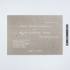 the lori invitation suite | VIA #WEDDINGPINS.NET