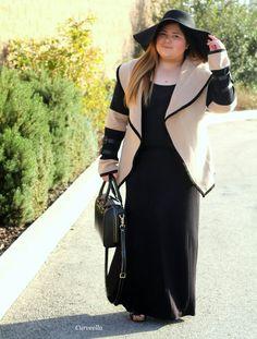 Curveella: Pretty Classy Cashmere,curveella,plus size,plus size fashion, plus size fashion blogger, fashion blogger, blogger,fashion stylist, style, stylist,fashion inspiration,curvy,curvy fashion, ootd, outfits, lookbook, inspiration,ootn, psblogger, maxi dress,cashmere, floppy hat ,hat,fall,fall fashionn, winter
