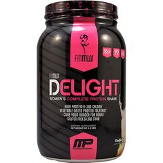 FitMiss by MusclePharm Delight Protein Shake Vanilla Chai 2 lbs   Regular Price: $47.99, Sale Price: $33.99   OvernightSupplements.com   #onSale #supplements #specials #Fitmiss #ProteinForWomen   