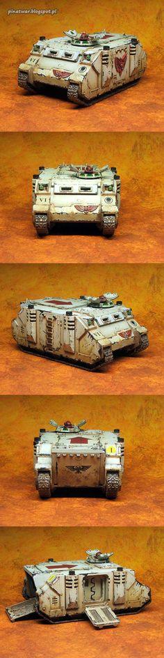 W40K - Space Marines Rhino (by Kornat)