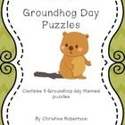 This product contains 5 puzzles with a groundhog day theme. Perfect for the younger grades. Use as part of a unit or just as an extra set of puzzle...