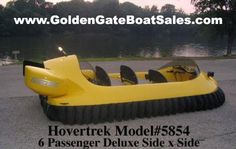 Brand New 2015 Neoteric Hovertrek Hovercraft Model 5854     Price: $60,044     CLICK HERE  for more information on this Hovercraft.    Hovertrek 6 passenger Deluxe Side X Side seating, fully assembled   with all standard options.  Neoteric -- The Original Light Hovercraft Manufacturer