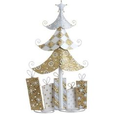 "RAZ Imports - 22"" Christmas Tree with Presents"