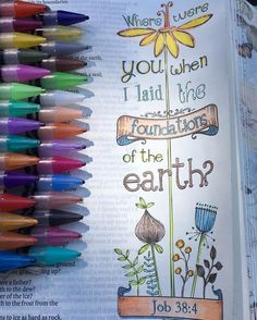Love Bible journaling #biblejournaling #readyourbible #coloryourbible…