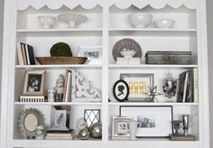 7 Tips for Styling Shelves By Courtney Browning | 1/21/2015 Our home has four sets of built-in shelves. Luckily, bookshelves are one of my favorite things to decorate because they offer a chance to display what you love in a way that adds character and depth to a space. I've picked up a few tricks along the way as I've carefully filled each nook and cranny with items that are beautiful, meaningful and functional.