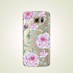 Jahrgang Floral TPU Hülle Samsung Galaxy S7 von LittleThingsCafe