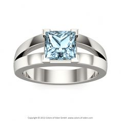 Aquamarine Ring...