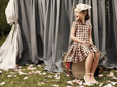 Adorable Dress and Shoot    Gallery   MilK - The fashion magazine child