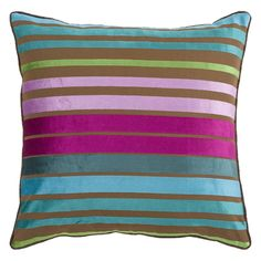 Have to have it. Surya Yarmouth Stripe Decorative Pillow - Multicolor $35.00