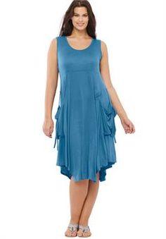Plus Size Cargo Dress