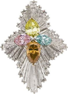 """""""jewelgasm"""" is the only word that comes to mind.  Colored Diamond, Diamond, Platinum Ring, Linz"""