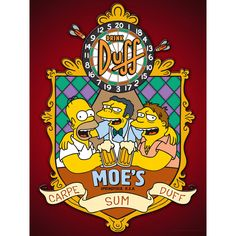 The Simpsons: Duff Beer Tavern Sign
