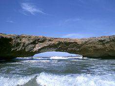 Aruba's Natural Bridge! Been there. :)