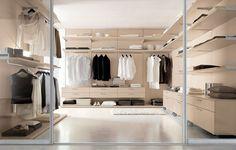 modern bedroom wardrobe with sliding door