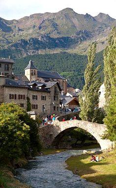Sallent de Gallego (Huesca), Spain