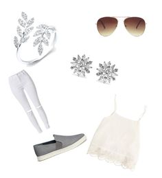 """""""Forår"""" by simone-xxii ❤ liked on Polyvore featuring Forever 21, Kenneth Jay Lane, Vince, Swell, women's clothing, women, female, woman, misses and juniors"""