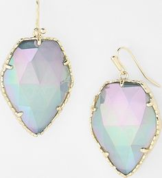 New! Kendra Scott 'Corley' Faceted Stone Drop Earrings, iridescent Slate Cats Eye and Gold. Get the lowest price on New! Kendra Scott 'Corley' Faceted Stone Drop Earrings, iridescent Slate Cats Eye and Gold and other fabulous designer clothing and accessories! Shop Tradesy now