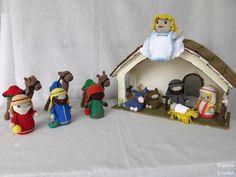 Amigurumi Nativity Español : Amigurumi pesebre navidad patrón gratis en español aqui