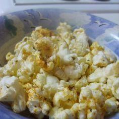 Pizza Flavored Popcorn Recipe
