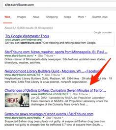 Fehlerhaftes Google: Dutzende von URLs wurden falsch indexiert und leiten beim Klick auf völlig falsche Seiten.