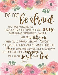 Scripture Encouragement and Prayer Prayer Scriptures, Scripture Verses, Bible Verses Quotes, Faith Quotes, Healing Scriptures, Heart Quotes, Encouragement Scripture, Bible Verses About Fear, Scriptures On Fear