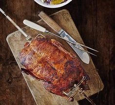 You'll go quakers for this delicious roast duck recipe with apple and prune stuffing!