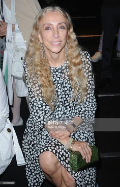 Editor-in-chief of Vogue Italy Franca Sozzani attends the Ermanno Scervino Spring/Summer 2012 fashion show as part Milan Womenswear Fashion Week on September 22, 2011 in Milan, Italy.