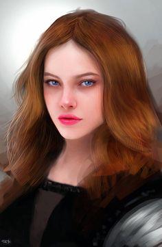 Portrait #008 by Razaras