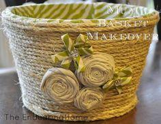 Mum Basket Makeover