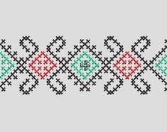 Check out our bulgarian embroidery selection for the very best in unique or custom, handmade pieces from our embroidery shops. Embroidery Shop, Cross Stitch Embroidery, Cross Stitch Patterns, Yarn Projects, Bulgarian, Christmas Cross, Cross Stitching, Bookmarks, Handmade