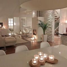 22 exclusive and personalized dining room interior design 6 Interior Design Living Room, Living Room Designs, Living Room Decor, Interior Decorating, Interior Livingroom, Dining Room, Ikea Interior, Coastal Interior, Design Interiors