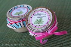 """instructions and recipes for baking pies in tiny mason jars.  Make for baby shower and add tag """"this baby will be sweet as pie"""" !"""