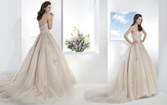Ultra Sophisticates Style 1467 by Demetrios  Arriving at Anjolique this Friday March 7!  Call us 704-892-6450