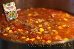 Cowboy Soup from Foolproof Family Recipes, shared by Not Quite June Cleaver