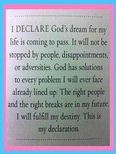 In Jesus Name I Pray, Amen!