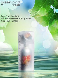 Gift Set Fruit Emotions  Fragranza: grapefruit-ginger