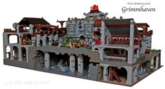 http://www.brickshelf.com/gallery/mrbrickbob/Castle/Grimmhaven/tbt_0482_lego_ritter_hafen_nordland_grimmhaven.jpg