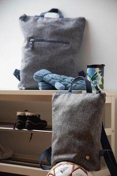 Rucksack: Rucksack aus österreichischem Loden, 100% Merinowolle und mit Details aus Leder. Ein alltäglicher Begleiter. Passend zum modernen Outfit und zu Tracht und Dirndl. Auch Kinderrucksack ----- Bagpack made from Austrian loden, 100% merinowool and dirndl cotton, details from leather. Rucksack, suitable for business and leisure. Fitting for modern outfit and traditional clothes like a Dirndl. Bagpack for children. #bagpack #sustainablefashion #rucksack Moderne Outfits, Clutch, Shopper, Babys, Christmas Gifts, Throw Pillows, Gift Ideas, Design, Gifts For Women