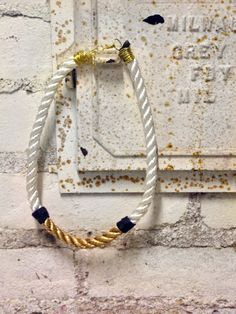 Gilded Rope Necklace, $30 - Lily Dawson Designs  http://www.lilydawsondesigns.com/shop/necklaces/gilded-rope-necklace/