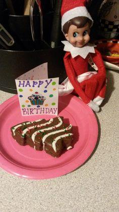 Happy Birthday Easy Elf on the Shelf Idea and 134 Simple Elf on the Shelf Ideas