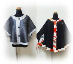 Popular 『Wafu Colle』 Kimono cape☆new released in this summer,is also ordered so much in this autumn♪(now's 2 months waiting)  Let's enjoy Kimono cape fashion♡  http://blog.kobecoffee.com/2012/10/blog-post.html