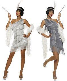 1920s Dazzling Flapper Halloween Costume 20s Style Dress Adult Woman 48331 48350   eBay