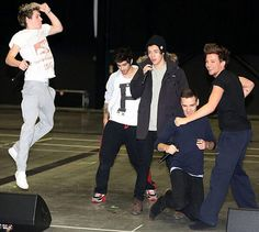 "Niall's like a superhero flying off to rescue someone while saying ""Have no fear, Nialler is here!"""