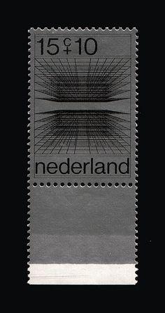 1970 |  Ootje Oxenaar | grijs, zwart | grafische tekening