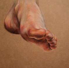 Lizz Conley, art, illustration, colored pencil drawing